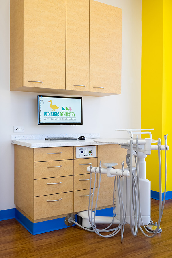Pediatric Dentistry of San Marcos - Treatment Room 4 - San Marcos Dentist